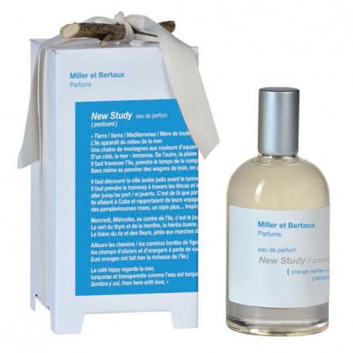 Miller et Bertaux New Study (Postcard) Eau De Parfume 100ml