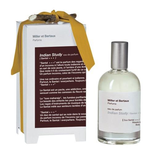 Miller et Bertaux Indian study / Santal +++ Eau De Parfume 100ml