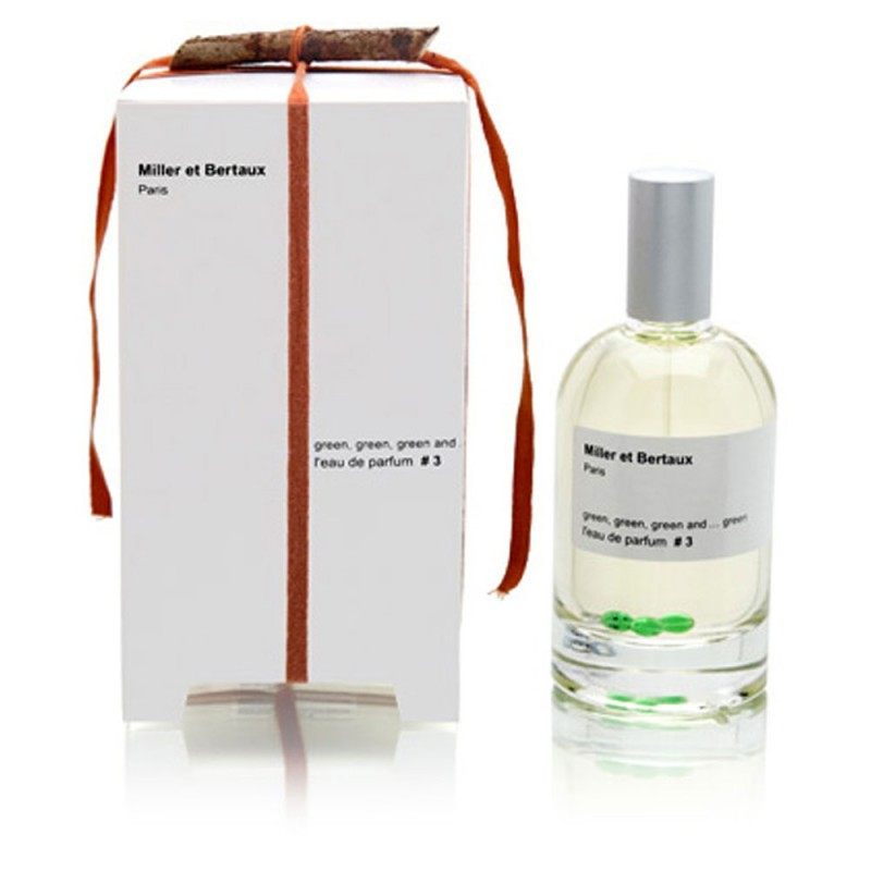 Miller et Bertaux 3 green, green, green and… green EDP 100ml